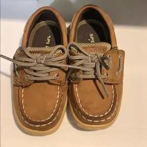 Toddler boy/girl Sperrys size 7
